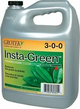 Grotek Insta-Green Eliminates Yellow Leaves Natural Fertilizers 1 Liter - $29.24