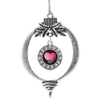 Inspired Silver Auntie Circle Holiday Decoration Christmas Tree Ornament - $14.69
