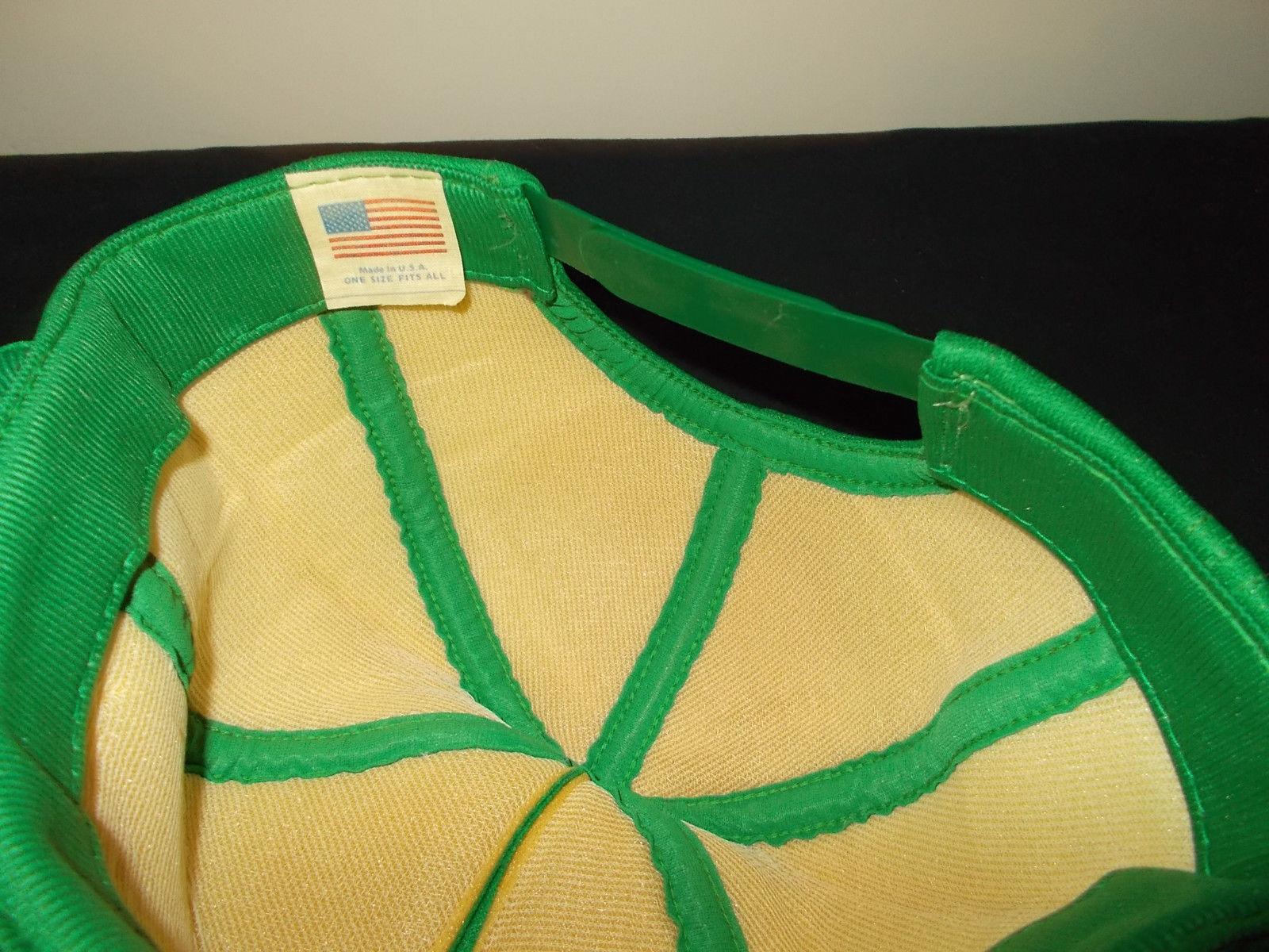 VTG-1980s Meyer Dreyers Morton Company MADE USA snapback hat sku16