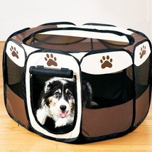 Outdoor Waterproof Animal Playpen Pet Cat Dog Fence Oxford Toy Cage Hous... - $41.07+