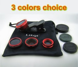 4in1 Super Wide-Angle Lens Fisheye Macro Effect CPL Filter for Cell Phon... - $18.31