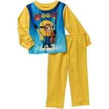 Despicable Me Minions   2 Piece Toddler Flannel Boy's Pajama Set Size- 2... - $9.74