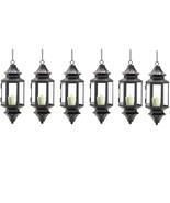 6 Moroccan Lanterns Candle Holders - $68.00