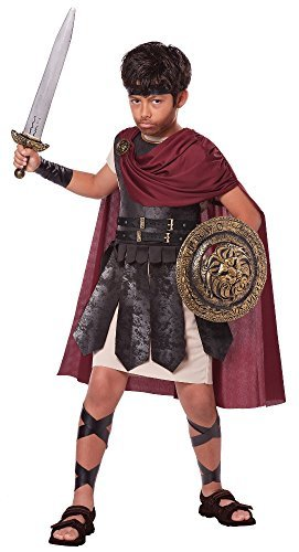 California Costumes Spartan Warrior Costume, One Color, 12-14