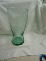 Collectible McDonald's Famous 15 Cent Hamburger Green Tinted Drinking Gl... - $10.89