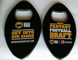 Buffalo Wild Wings 2014 Fantasy Footbal DRAFT Bottle Opener - $3.95