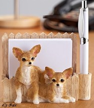 Chihuahua Puppies Magnetic Paper Holderand Pen - $15.99
