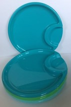 Pampered Chef Picnic Plates Plastic Outdoor Tab... - $7.91