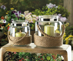 DOCKSIDE SMALL CANDLE LANTERN - $29.95