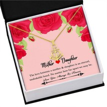 Daughter Jewelry From Mom Necklace Pendant 18K Gold Heart Birthday Women... - $39.55