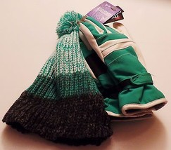 New Igloo Thinsulate Isolant Kids Ski Gloves Marled Beanie L XL (Color a... - $311,73 MXN