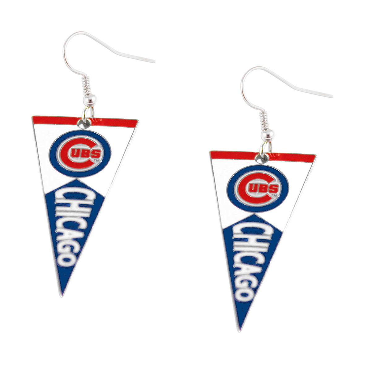 Primary image for MLB Chicago Cubs Pennant Dangle Earring Set