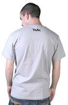 Tavik Mens Silver Grey Black Holy Surfer California Jesus Waves T-Shirt NWT image 3
