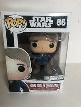 Funko Pop Star Wars Han Solo Snow Gear 86 Loot Crate Exclusive Vinyl Bobblehead - $9.85