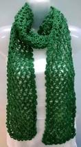 Scarf Wrap Muffler Neck Warmer Soft Acrylic Handmade Crochet Woman Boho ... - $10.39