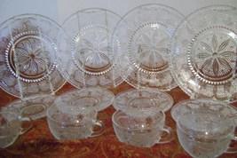 Vintage Federal Glass Sandwich Glass Heritage Set - $35.00