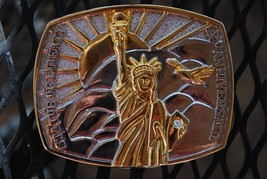 Statue of Liberty 100th Anneversery Belt Buckle - $15.79