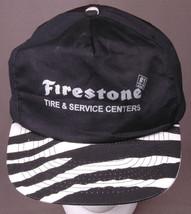 Firestone Tire & Service Centers Hat-Snapback Cap-Zebra Stripe-Auto-Gara... - $27.67