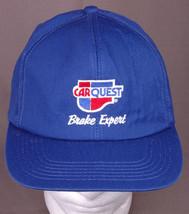 Car Quest Brake Expert Hat-Snapback Cap-Blue-Embroidered-Automotive-Gara... - $18.13