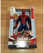 Hasbro Ultimate Spider-Man Web Warriors Talking Action Figure Titan Hero Tech - $20.56