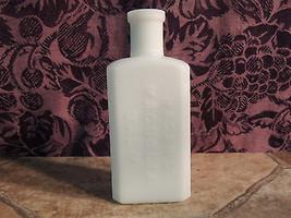Blown White Milk Glass Bottle HAGAN'S MAGNOLIA ... - $25.00