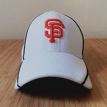 SF GIANTS fitted white baseball hat cap size L/XL mlb New Era 39THIRTY - $29.99