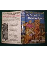 Nancy Drew 5 The Secret at Shadow Ranch Blue Mu... - $24.99