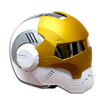 Masei 610 Ironman Matt White Gold Motorcycle Helmet - $499.00