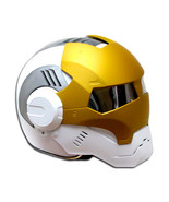 Masei 610 Ironman Matt White Gold Motorcycle Helmet - $499.00