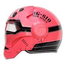 Masei 610 Red Acguy Motorcycle Helmet image 3