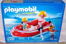 Playmobil Swimmers with Raft Playset  #5439 New - $12.88