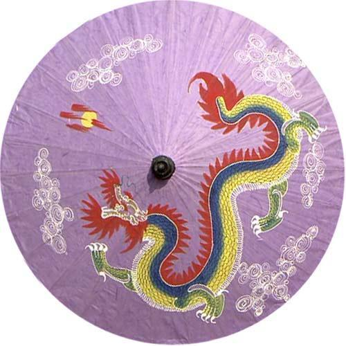 "Primary image for 35"" Diameter Chinese Dragon Fashion Umbrellas"