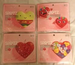 Lot of 4 Spritz Heart Decorating Kits Arts Crafts Activities Supplies Fo... - £7.16 GBP