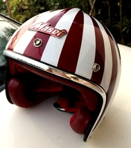 Masei 610 Ruby Glossy Red Motorcycle Helmet - $499.00