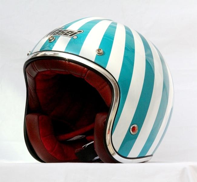 Masei 610 Ruby Glossy Green Motorcycle Helmet