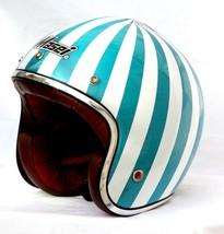 Masei 610 Ruby Glossy Green Motorcycle Helmet image 2