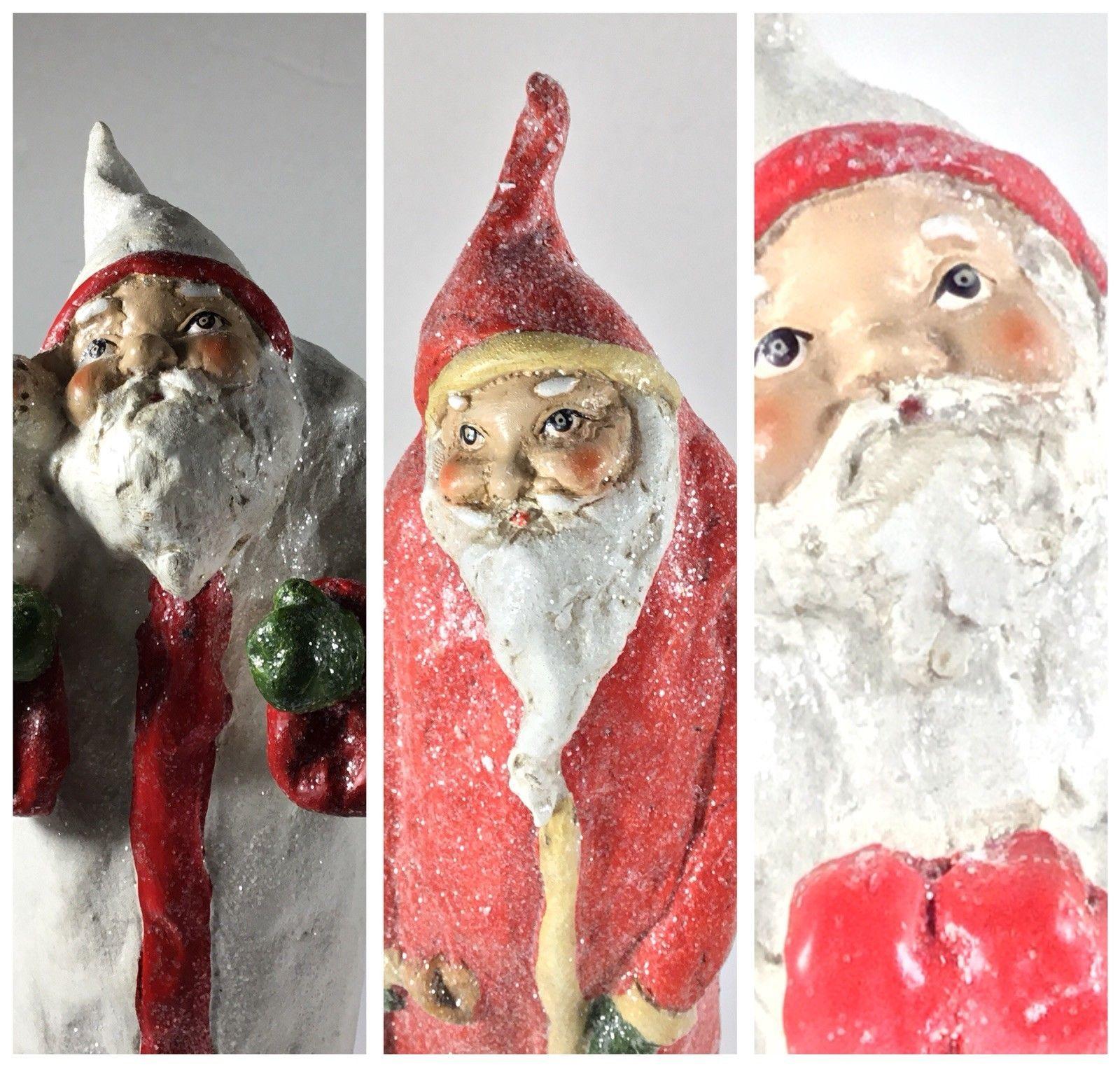 Santa Claus Victorian 3 Styles Table Top Decoration 2017 Jingle