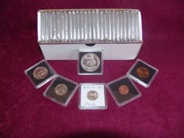 "2"" x 2""  Coin Collecting Display Slabs for  Lg. Dollars (QTY = 10 Coin H... - $7.90"