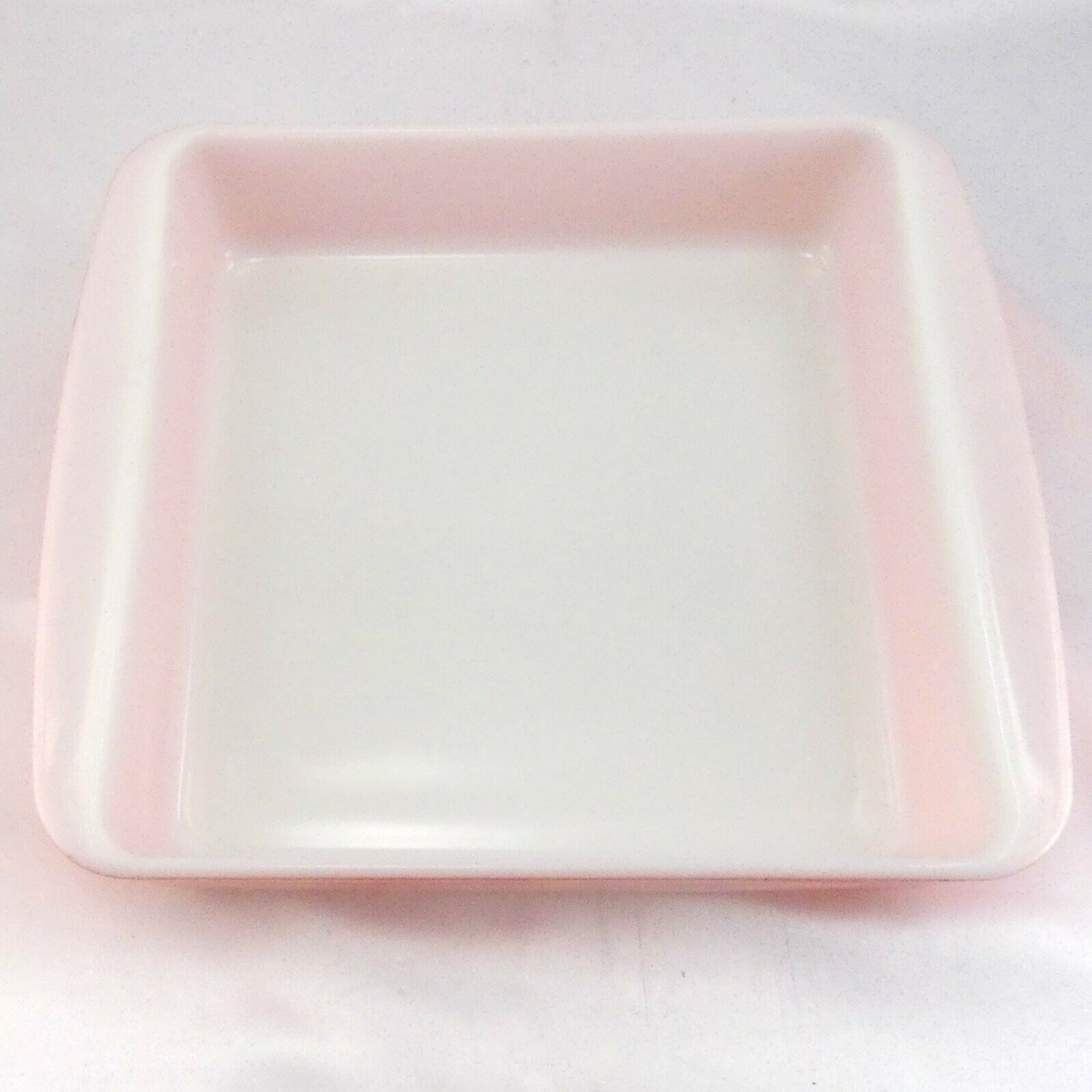"Pyrex 222 Desert Dawn Square Baking Dish Vintage Speckled 8""x8"" Made in the USA image 6"