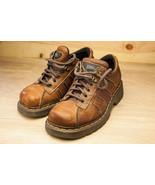 Dr Martens 7 Brown Oxfords Women's Shoe EU 38 - $46.00