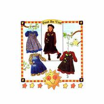 Simplicity 7278 Girls Wrap Pinafore Full Skirt Dress Size 5 - 6 - 7 - 8 ... - $2.00