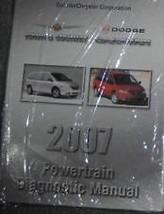 2007 Dodge CARAVAN Chrysler Town Country CHASSIS Diagnostic Procedures Manual - $59.35