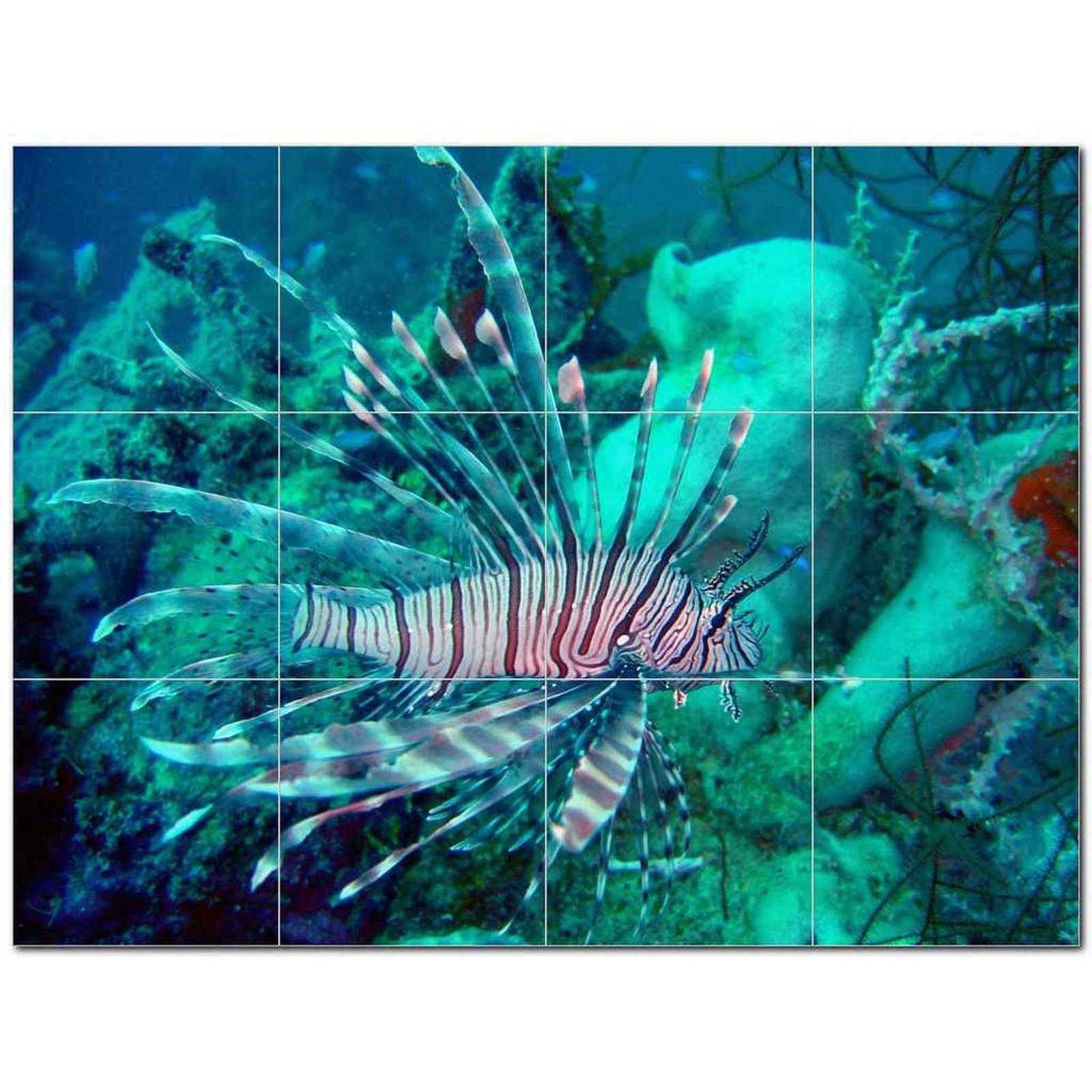 Primary image for Sealife Picture Ceramic Tile Mural Kitchen Backsplash Bathroom Shower BAZ405822