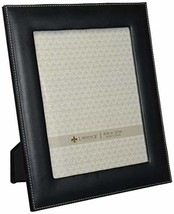 Lawrence Frames Black Leather 8 by 10 Picture Frame - £12.63 GBP
