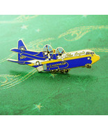 Marines Tie Tack Blue Angels Airplane military quadron aviator Pilot Avi... - $75.00
