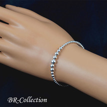 925 Sterling Silver Ball Cuff Bracelet - $23.71