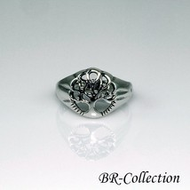 925 Sterling Silver Tree of Life Ring - New Design - $16.95
