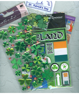 St  Patricks Day Embellishments Decorations Paper Craft Supplies St Padd... - $6.00