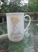 Enesco Precious Moments Religious AUNT Coffee mug Porcelain Tea Cup 1990 - $14.84