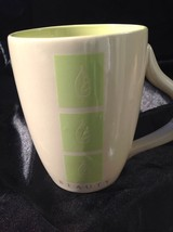 "Russ Berrie & Co. Natural ""BEAUTY"" Nature Coffee Cup Mug Green & Beige w... - $12.09"